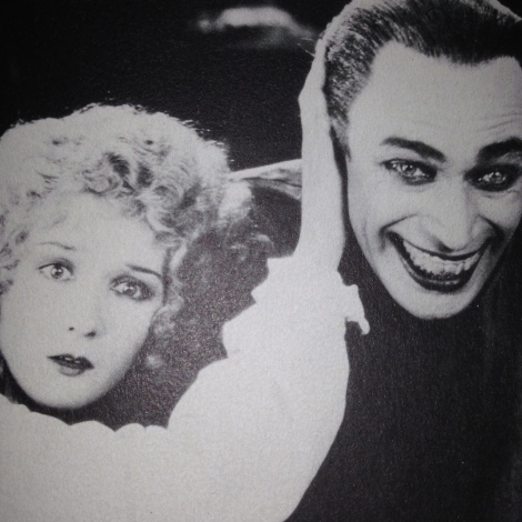 This was the stuff of my nightmares ... Conrad Veidt in THE MAN WHO LAUGHS (1928)